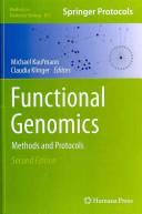 Functional Genomics Book