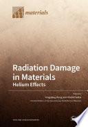 Radiation Damage in Materials
