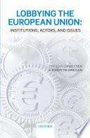 Lobbying The European Union Book PDF
