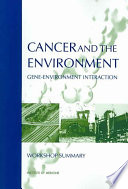 Cancer And The Environment Book PDF