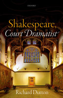 Shakespeare, Court Dramatist