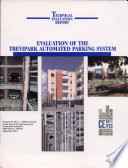 Evaluation Of The Trevipark Automated Parking System Book PDF