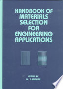 Handbook of Materials Selection for Engineering Applications Book