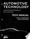 Tech Manual for Erjavec's Automotive Technology: A Systems Approach