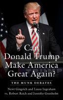 Can Donald Trump Make America Great Again
