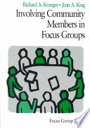 Involving Community Members In Focus Groups Book PDF