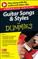 Guitar Songs And Styles For Dummies Enhanced Edition