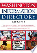 Washington Information Directory