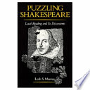 Puzzling Shakespeare