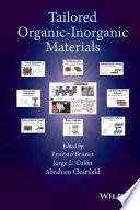 Tailored Organic Inorganic Materials Book