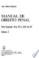 Manual de direito penal: Parte especial