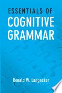 Essentials of Cognitive Grammar