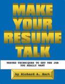 Make Your Resume Talk