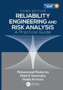 Reliability Engineering and Risk Analysis Pdf/ePub eBook