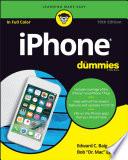 «IPhone pour les nuls» par Edward C. Baig, Bob LeVitus