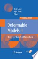 Deformable Models Book