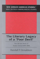 The Literary Legacy of a  poor Devil