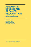 Automatic Speech and Speaker Recognition [Pdf/ePub] eBook