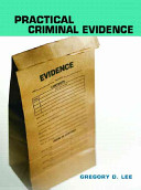 Practical Criminal Evidence Book
