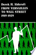 From Versailles to Wall Street  1919 1929 Book