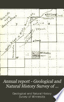 Annual Report   Geological and Natural History Survey of Minnesota Book