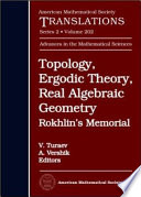 Topology Ergodic Theory Real Algebraic Geometry