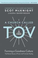 Pdf A Church Called Tov