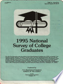 1995 National Survey Of College Graduates Form Nscg 1 January 11 1995