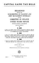 Capital Gains Tax Bills