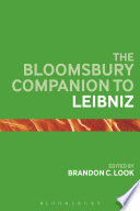 The Bloomsbury Companion To Leibniz