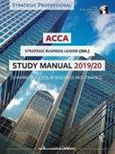 ACCA Strategic Business Leader Study Manual 2019 20