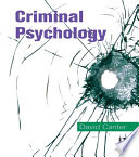 Criminal Psychology Topics In Applied Psychology