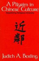 A Pilgrim in Chinese Culture