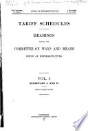 Tariff Schedules