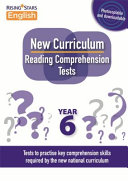 New Curriculum Reading Comprehension Tests Year 6