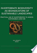 Invertebrate Biodiversity as Bioindicators of Sustainable Landscapes