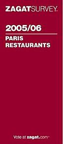 Zagat Paris Restaurants