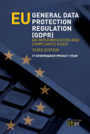 EU General Data Protection Regulation  GDPR   third edition