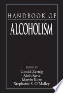 Handbook Of Alcoholism Book PDF