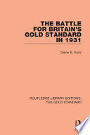The Battle for Britain s Gold Standard in 1931