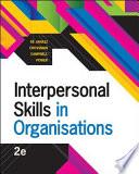 Interpersonal Skills in Organisations