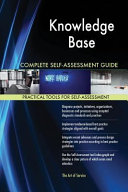 Knowledge Base Complete Self Assessment Guide