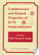 Luminescence and Related Properties of II-VI Semiconductors