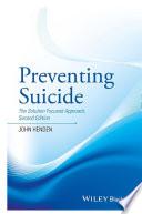 Preventing Suicide Book