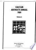 CAD/CAM Abstracts