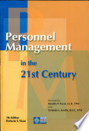 PERSONNEL MANAGEMENT IN THE 21st CENTURY' 2003 ED.
