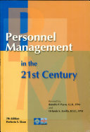 PERSONNEL MANAGEMENT IN THE 21st CENTURY  2003 ED