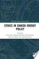 Ethics in Danish Energy Policy