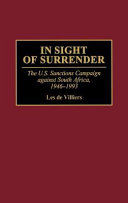 In Sight of Surrender Book