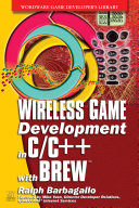 Wireless Game Development in C C   with BREW
